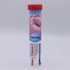 Eisen + Vitamin C Mivolis 20 tablets