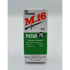 M16 for toothache Patar 3 ml
