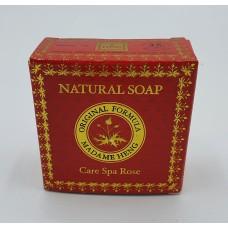 Natural soap Care Spa Rose Madame Heng 150 g