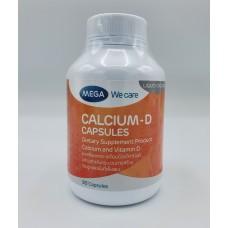 Calcium - D Mega We Care 90 capsules