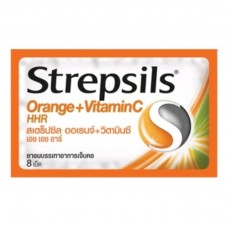 Strepsils Orange & Vitamin C 8 tab