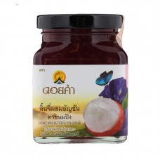 Lychee with butterfly pea jam Doi Kham 220 g