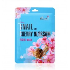 Facial mask Snail and Cherry blossom Moods 10 pcs