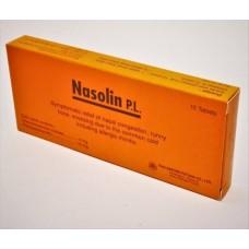 Nasolin P.L. 10 tablets