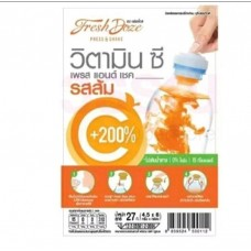 Vitamin C orange flavor Fresh Doze 3.5 g × 6 pcs