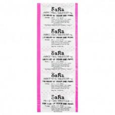 Sara Paracetamol 500 mg 10 blisters