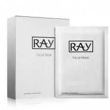 Facial Mask Ray silver 10 pcs