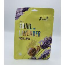 Facial Mask Snail and Lavender Moods 10 pcs