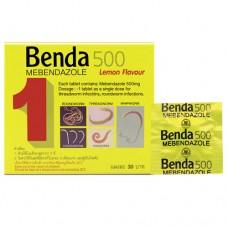 Bendа 500 mebendazole Lemon 1 tablet