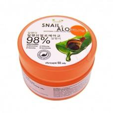 Snail and Aloe facial cream Moods 50 g