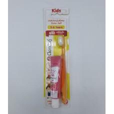 Kids toothbrush twin lotus