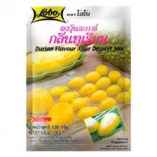 Durian flavour Agar dessert Mix Lobo 120 g